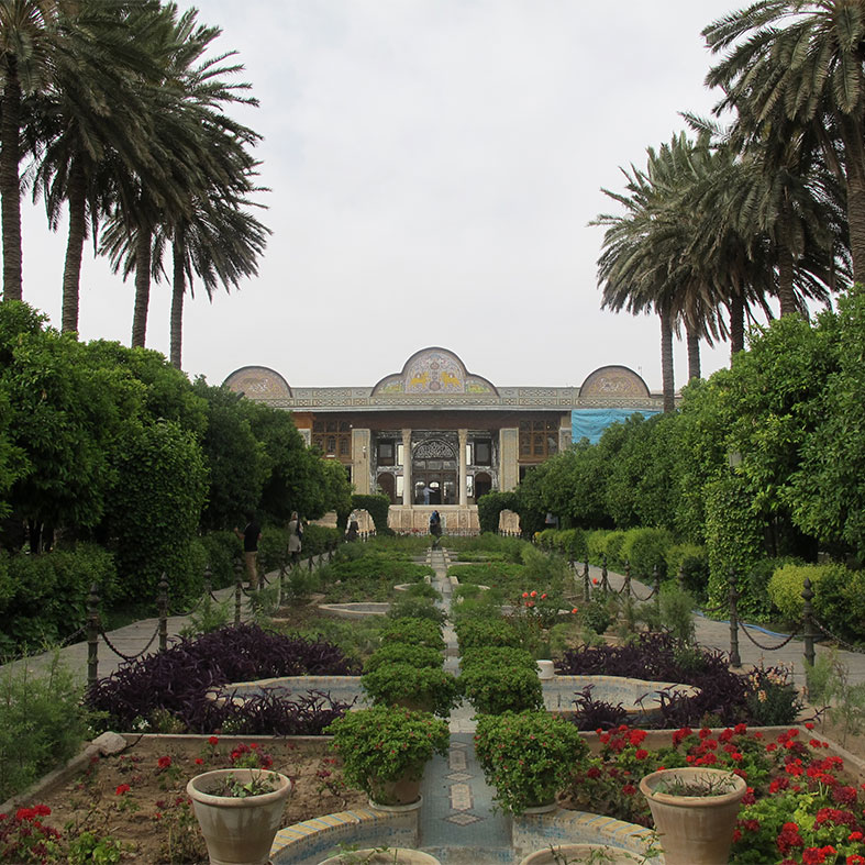 Invitation of Iranian Jahanbagh research center for ceremony of  Iranian garden
