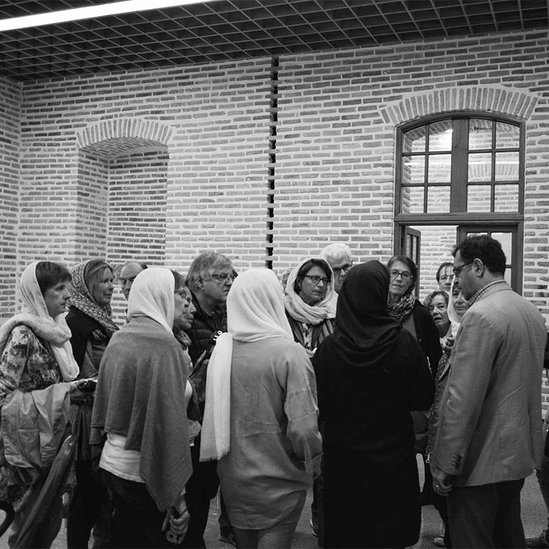 French Architects Visiting the Faculty of Art & Architecture